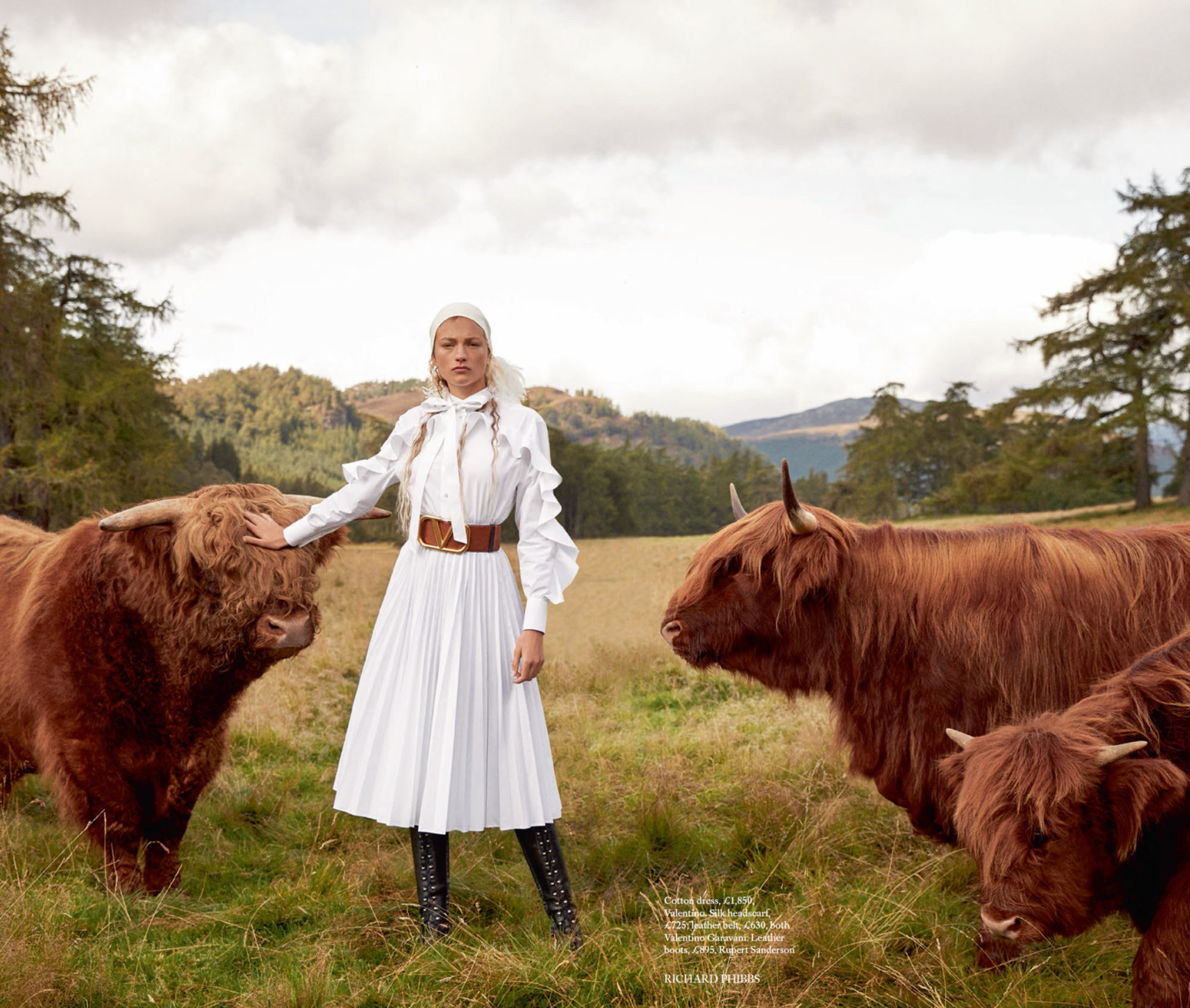 SCOTLAND FASHION STORY | HARPERS BAZAAR