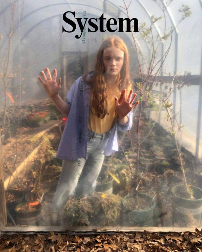 SADIE SINKS SS18   SYSTEM MAGAZINE