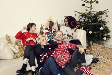 CHRISTMAS FAMILY   GEORGE
