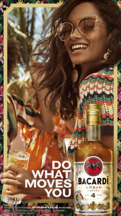 DO WHAT MOVES YOU | BACARDI
