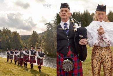 SCOTLAND FASHION STORY | HARPERS BAZAAR